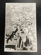 Original Comic Art Full Splash Page Cable Issue 36 Page 22 Marvel 1996