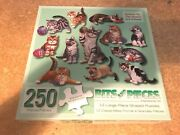 Bits And Pieces 250 Large Piece Jigsaw Puzzles-12 Individual Cats By Jack Williams