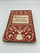 Vintage Betty Crocker's Picture Cookbook Hb 1st Edition 9th Printing 1950
