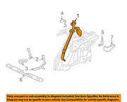 Buick Gm Oem Park Avenue Rear Seat Belt-belt And Buckle Retractor Right 88893496