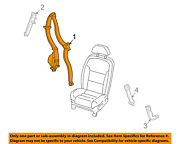 Lincoln Ford Oem Ls Front Seat Belt Buckle-retractor Assy Right 2w4z54611b08aae