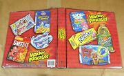 2006 Topps Wacky Packages All-new Series 1-3 Beanstalk 3-ring Binder Album Rare