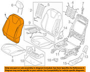 Ford Oem 13-14 Focus Passenger Seat-seat Back Cover Right Cv6z5864416lc