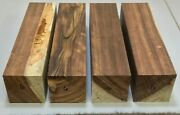 Mfr6 4 Chechen Spindles 3 X 3 X 12 Kiln Dried Turning Blanks Some Defects