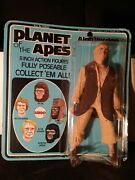 Vintage 1967 Planet Of The Apes 8 Action Figure Alan Verdon New In Box Nib