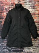 Lure Jeans Womenand039s Puffer Quilted Jacket Black Size L