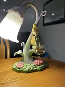 Disney Tinkerbell Fairy Lamp Tested Works 27130 Missing Wings But Works Great