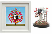 Family Tree Framed Print And Sculpture By Doug Hyde. Brand New. Matching Numbers
