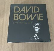 David Bowie Five Years Vinyl Box Set Sealed. Can Post At Cost.