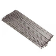 100pcs Stainless Steel Barbecue Skewers Outdoor Bbq Long Stick Thickened Silver