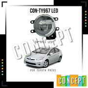 For 2010-2011 Toyota Prius Led Fog Light With Concept Design Drl Left And Right
