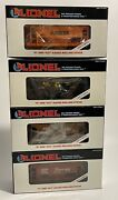Lot Of 4 Immaculate Lionel Ore Cars 6-19315 6-19301 6-19307 6-19305 O O27 Gauge