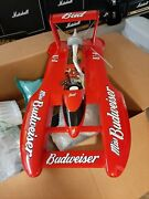 Rc Miss Budweiser Hydroplane Nos. Never Been Used.