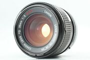 Cla'd N Mint Rare ''o'' Canon Fd 35mm F/2 Ssc S.s.c Mf Concave Lens From Japan