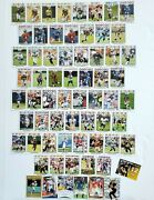 2008 Topps Nfl Card Lot Of 65 Rookie Hall Of Fame Tom Brady Terry Bradshaw Gold