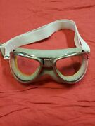 Us Aviator Pilot An-6530 Flight Flying Goggles Army Air Force Navy