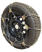 Snow Chains 165/70-15, 165 70-15 A1022 Diagonal Cable Tire Chains Set Of 2