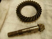 Cushman Truckster 1953-63 Dana 12 Differential Ring And Pinion 5.17 To 1 Ratio Nos