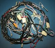 1956 1957 Corvette Main Wiring Harness Dash And Forward New In Stock Save 100