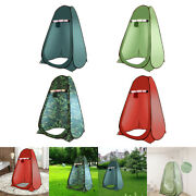 Portable Camping Privacy Toilet Tent Mobile Shower Room Hiking Barbecue
