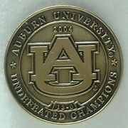 2004 Giant Auburn Tigers Antique Bronze Limited Edition Paperweight