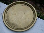 Vintage Rare Bergdoll Brewing Co Lager Beer Tray Philadelphia Pa Sign Brass