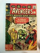 Avengers 1 A Classic Restored Front Cover And Centerfold Photocopied.