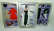 Audrey Hepburn Doll Breakfast At 's, The Cat Outfit And Black Daytime Dress