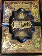 1892 Bible W/ Rev. Old/new Testament Bible Dict. And Beautiful Illustrations