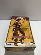 Marx Johnny West The Moveable Cowboy With Box And Accessories