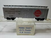 N Scale Micro Trains 70204 Swift 40and039 Reefer. Srlx Rd 1017