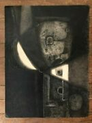 Abstract Oil Painting Leonel Vanegas 1942-1989 18 X 24 Nicaragua