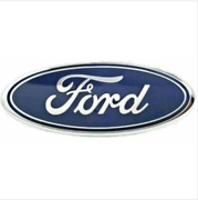 New Ford F-150 2005-2014 Tailgate Or Front Grille 9 Inch Blue And Chrome Emblem