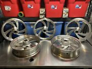 Used Victory Kingpin 18andrdquo Wheels - Lot Of 5 Wheels - 3 Fronts And 2 Rears
