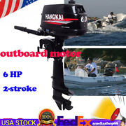 6 Hp 2-stroke Outboard Motor Oil Fishing Boat Engine Water Cooling Cdi System
