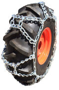 Snow Chains 13.6-28, 13.6 28 Duo Grip Tractor Tire Chains Set Of 2