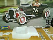 Revell Hot Rod Roadster Body,interior,glass.decals.trim Salvaged From 1929 Ford