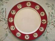 Williams Sonoma 12 Days Of Christmas Dinner Plate-set Of 2-new In Box