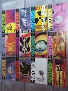 Signed Watchmen 1st Print First Edition 1 - 12 Comics Dave Gibbons And Alan Moore