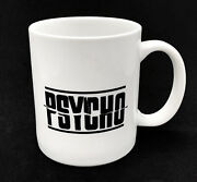 Alfred Hitchock's 1960 Psycho And Bates Motel Movie White Ceramic Coffee Mug / Cup