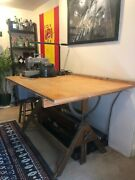 Very Rare Dietzgen Architects Drafting Table
