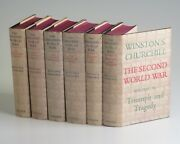 Winston Churchill - The Second World War, British First Editions, In Jackets