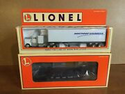 Lionel 6-52166 Nloe 99 Flat Car And Tractor Trailer. Nib. Unopened.
