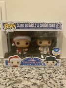 Funko Pop Christmas Vacation - Clark Griswold And Cousin Eddie 2 Pack