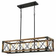 Kitchen Island Lighting Farmhouse Linear Chandelier For Dining Room Pool Table