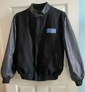 Bring Offers Terminator 2 Judgment Day T2 Varsity Set Jacket Real Leather And Wool