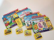Leap Frog My First Leap Pad Games Cartridges And Book Preschool. Lot Of 5