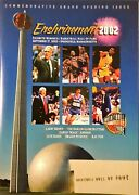 Basketball Hall Of Fame Enshrinement Program/yearbook Lot Of 12 Mint
