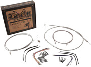 Burly Brand B30-1096 Braided Stainless Steel Cable/brake Line Kit