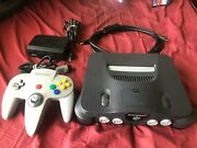 N64digital Nintendo 64 System Console Recapped Like Ultrahdmi Nocut Clean Tested
